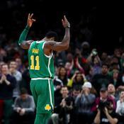 Irving et les Celtics font craquer les 76ers, Harden en feu