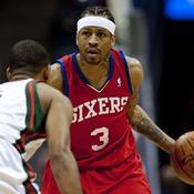 Allen Iverson (Philadelphie 76ers, 2010)