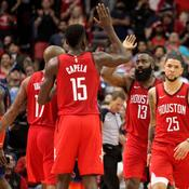 James Harden tout feu tout flamme avec les Rockets
