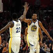Kevin Durant porte Golden State vers la qualification