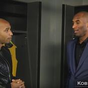 Thierry Henry et Kobe Bryant