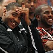 Carmelo Anthony et Chris Paul