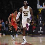 LeBron James en mode showtime avec les Lakers déplume les Hawks