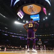 LeBron James et les Lakers au bord du précipice