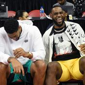 Anthony Davis et LeBron James