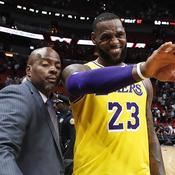 LeBron James prend feu avec les Lakers, les Warriors perdent pour la troisième fois d'affilée