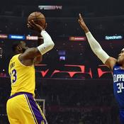 LeBron James rassure les Lakers, les Warriors surpris par Philadelphie