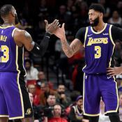 Avec un duo James-Davis intenable, les Lakers font cavaliers seuls
