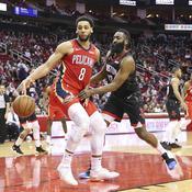 Les Pelicans plus haut que les Rockets
