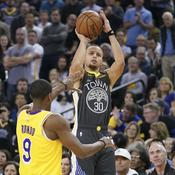 Malgré un Curry sur courant alternatif, Golden State fait la loi