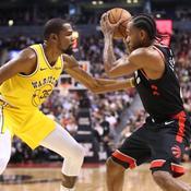 NBA : Golden State stoppé par les Raptors