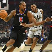 NBA : Intenable avec 38 points, Kawhi fait tomber les Spurs avec les Clippers