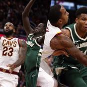 NBA : Le duel LeBron James-Giannis Antetokounmpo en vidéo