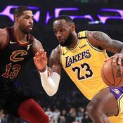 NBA : LeBron James impitoyable avec les Lakers face à ses anciens Cavaliers