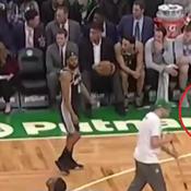 NBA: un fan des Boston Celtics banni à vie du TD Garden
