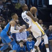 NBA : Westbrook terrasse Durant et Golden State, Miami arrête Boston