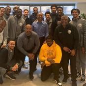 Les Golden State Warriors et Barrack Obama