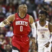 Russell Westbrook sans pitié pour Oklahoma City