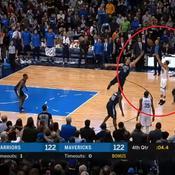 Top 10 : Curry enterre les derniers espoirs de Dallas à trois points