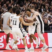Rudy Gay et les Spurs - Crédit : Soobum Im-USA TODAY Sports