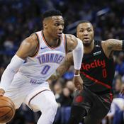 Toronto confirme ses prétentions, Westbrook voit triple pour OKC