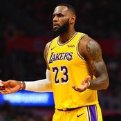 Lebron James subit sa plus large défaite en NBA