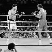 Mohamed Ali face à George Foreman