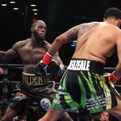 Le KO foudroyant de Wilder contre Breazeale à New York