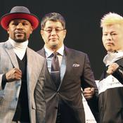 Mayweather renfile les gants contre le phénomène japonais «Ninja Boy»