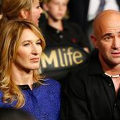 Andre Agassi et Steffi Graf