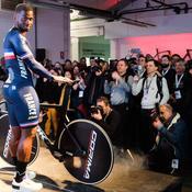 Les pistards bleus ont reçu leur vélo 100% français pour Tokyo 2020