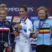 Pauline Ferrand Prevot, Jolanda Neff et Githa Michiels