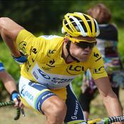 Simon Gerrans maillot jaune