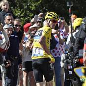 Froome attend son vélo
