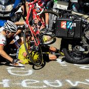 Froome chute !
