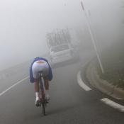 La montagne dans le brouillard