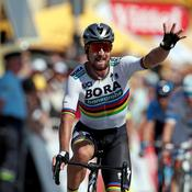 Tour de France : Sagan s'impose en costaud et s'empare du maillot jaune
