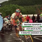 Il y a 21 ans sur le Tour de France ... Pantani, pour l'éternité