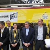 Merckx dédicace un Thalys collector à 100 jours du départ du Tour