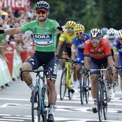 Tour de France : Sagan et Gaviria se partagent les bouquets