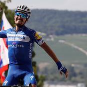 Tour de France 2019 : Magnifique vainqueur à Épernay, Alaphilippe enfile le Maillot Jaune
