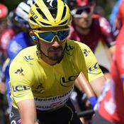 Tour de France: la folle première journée en jaune d'Alaphilippe
