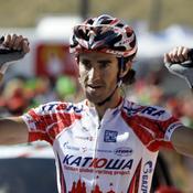 L'étape pour Moreno, Nibali reprend la tête