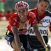 Juan Cobo sur la Vuelta 2011