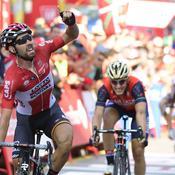 Vuelta : les favoris se neutralisent avant l'Angliru, De Gendt en profite