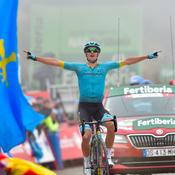 Vuelta : Roglic tient bon, Fuglsang récompense Astana