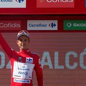 Vuelta : Valverde récidive, Molard reste en rouge