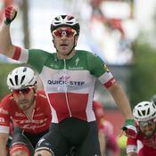 Vuelta : Viviani au sprint, Kwiatkowski reste en rouge