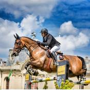 Equitation: Guillaume Canet s'impose à Chantilly