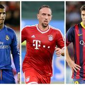 Ballon d'Or : Ribéry, finaliste bien entouré